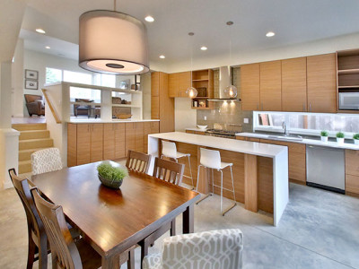 New Modern Homes Kitchen
