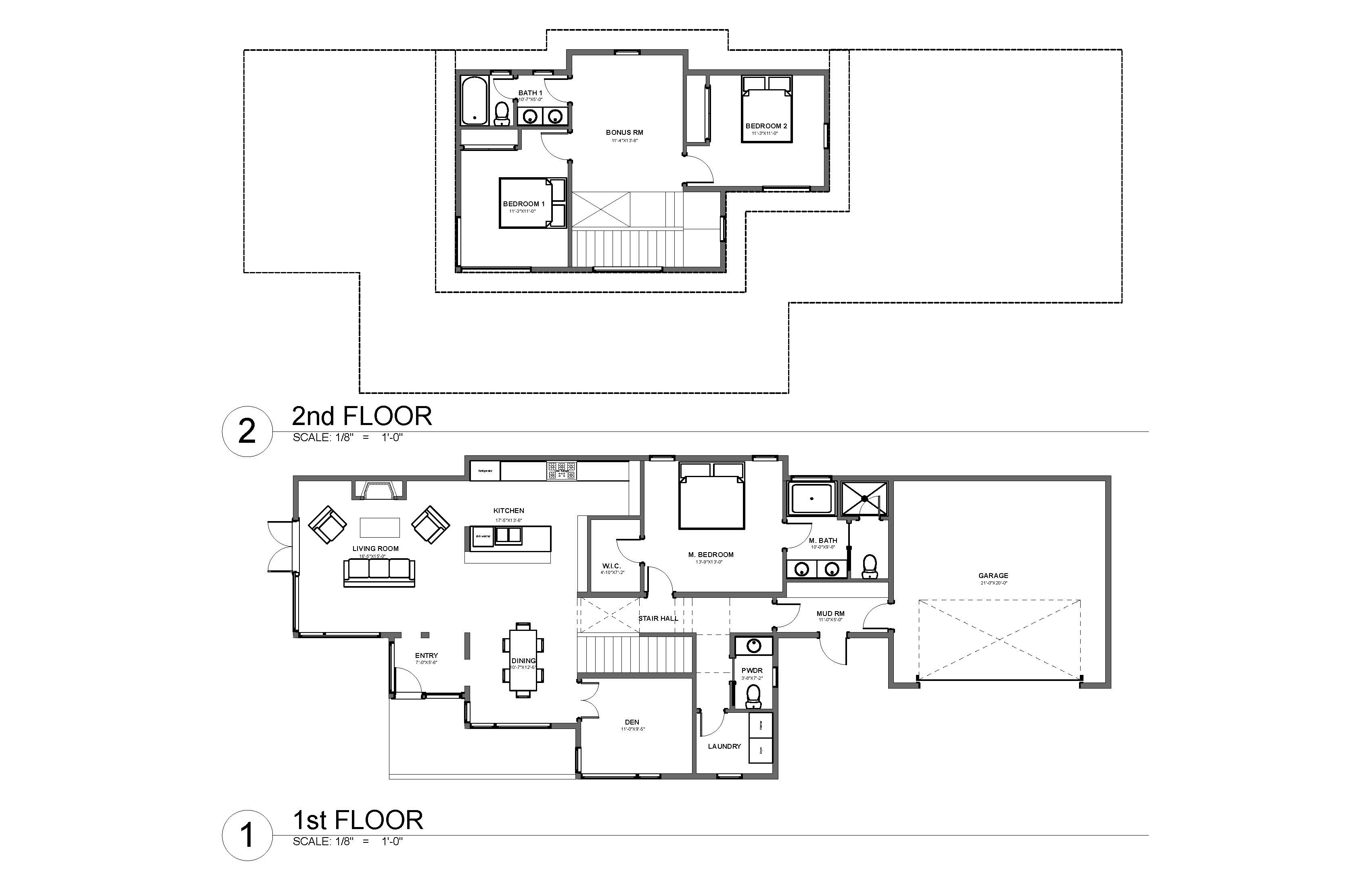 Sw bend oregon floor plan h hudson homes for House plans bend oregon