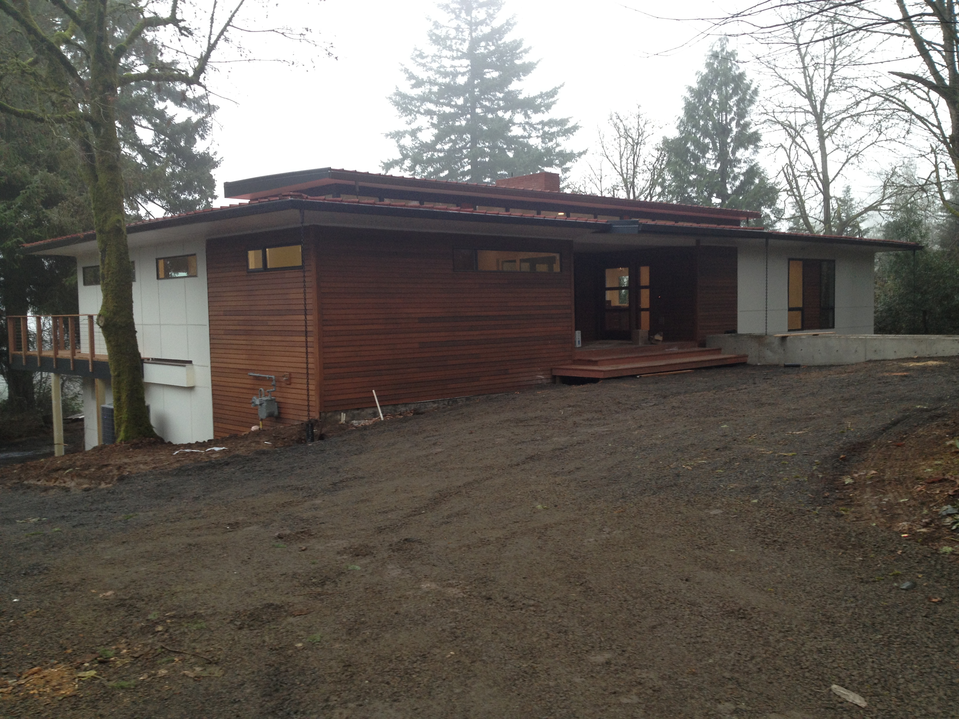 Sw portland mid century modern remodel for Remodeling a mid century modern home