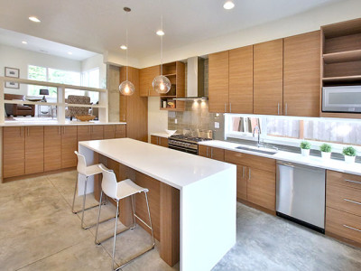 modern home builders comntemporary kitchen