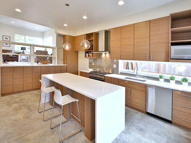 Contemporary Kitchen Finish Ideas from Modern Home Builders ...