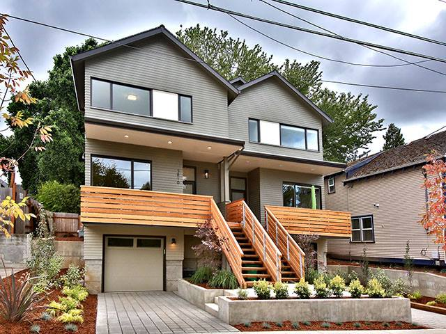 New modern homes in portland oregon from h hudson homes Modern house portland